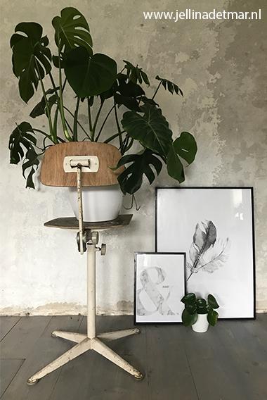 Posterset incl. frames - Grey Harmony