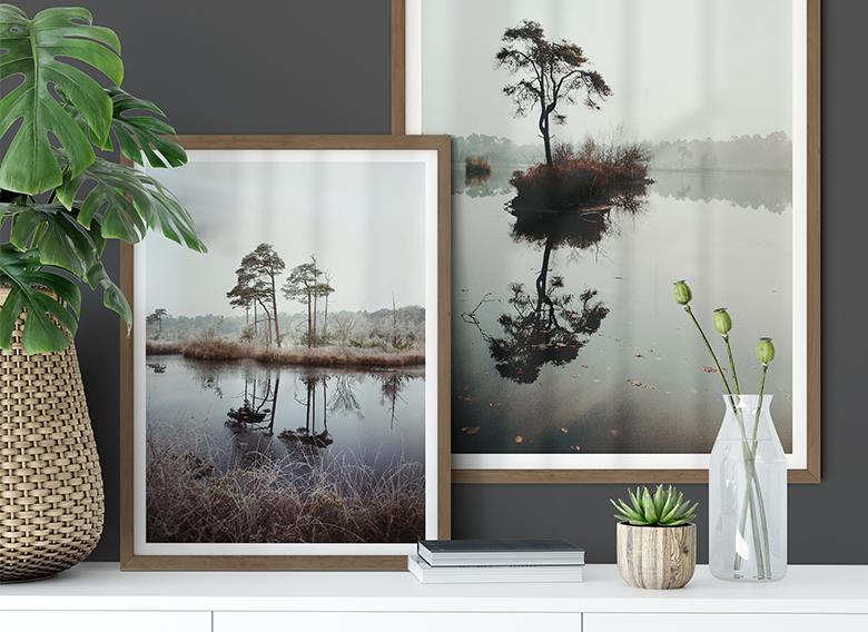 Posterset incl. frames - Autumn Dreams