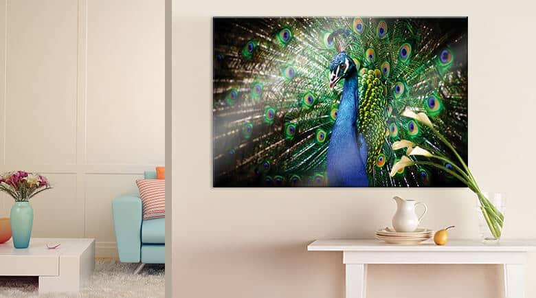 Woonkamer for Wohnzimmer wandbilder