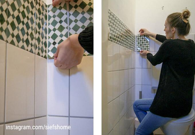Tegelstickers portugese tegeltjes wall art