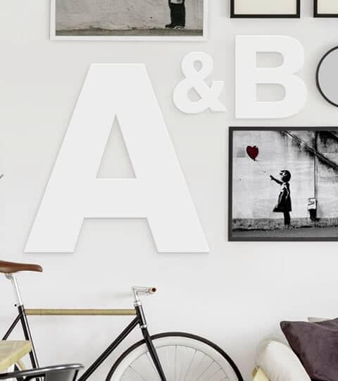 Letters Voor Op De Muur Xenos.Decoratieletters Wall Art Nl