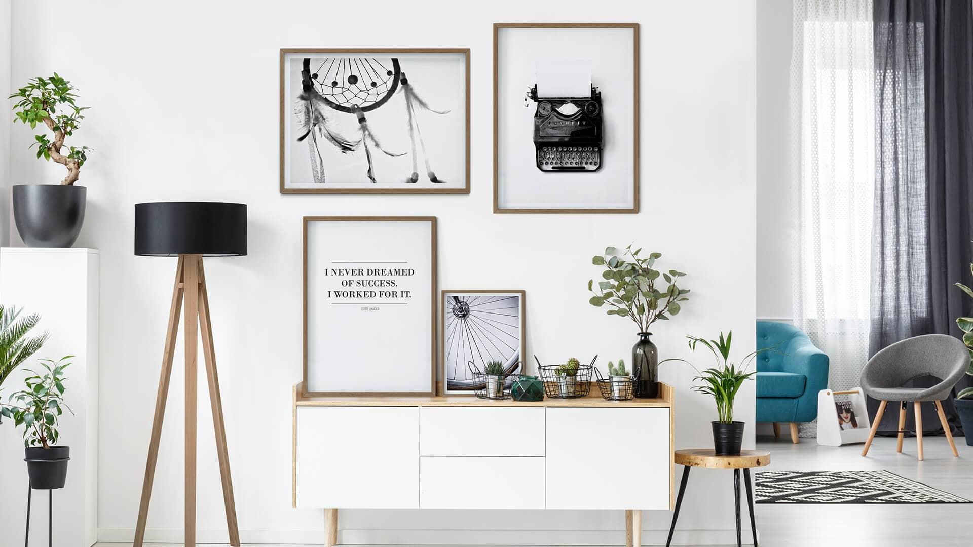 Posters In Slaapkamer : Stock fotografie hippe slaapkamer bld zoek stock
